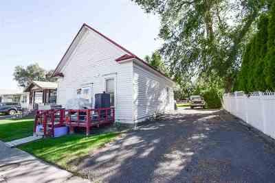 Pocatello Single Family Home For Sale: 1639 N Harrison
