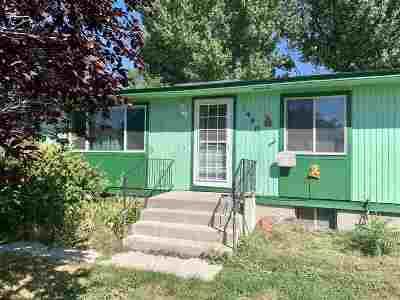 Pocatello Single Family Home For Sale: 1490 Troy