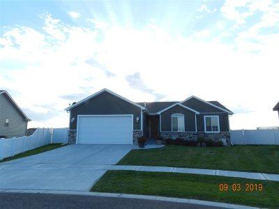 Chubbuck Single Family Home For Sale: 5101 Thurston