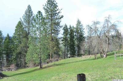 Peck, Pierce, Weippe Residential Lots & Land For Sale: Bobbitt Bench