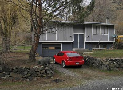 Riggins ID Single Family Home For Sale: $118,500