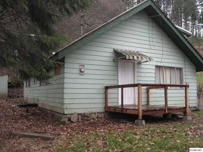 Kooskia Single Family Home For Sale: 413 Broadway Ave