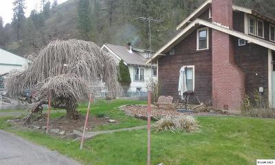 Kooskia Single Family Home For Sale: 016 1st Ave