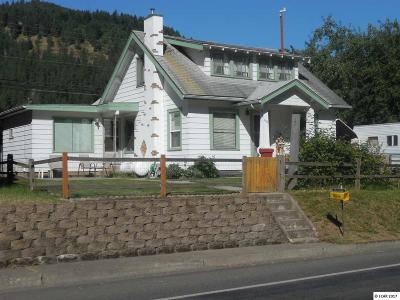 Orofino Single Family Home For Sale: 847 Riverside Avenue