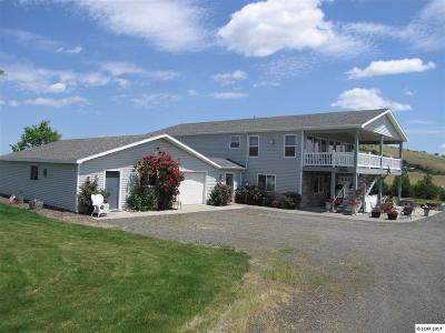 Grangeville Single Family Home For Sale: 1136 Luke's Gulch Road