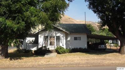 Kooskia Single Family Home For Sale: 201 S Front Street