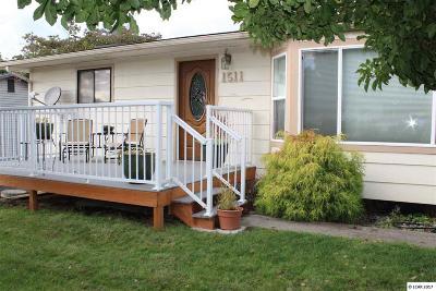 Single Family Home For Sale: 1511 Alder Dr