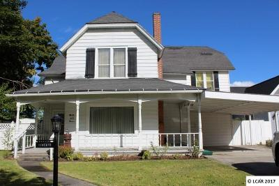 Asotin Single Family Home For Sale: 407 1st Street