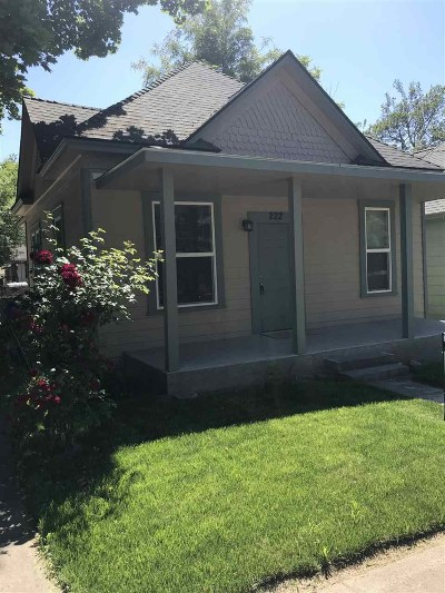 Lewiston Single Family Home For Sale: 222 6th Avenue