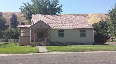 Pomeroy Single Family Home For Sale: 132 Pataha