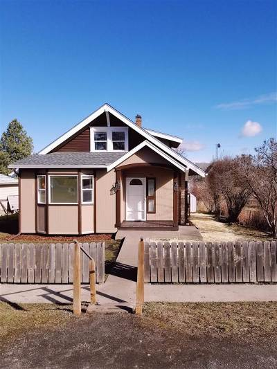 Cottonwood Single Family Home For Sale: 414 2nd S Street
