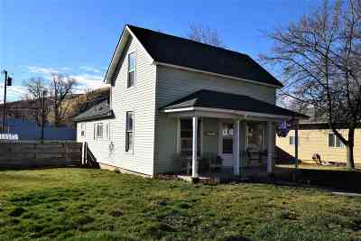 Pomeroy Single Family Home For Sale: 1528 Main Street