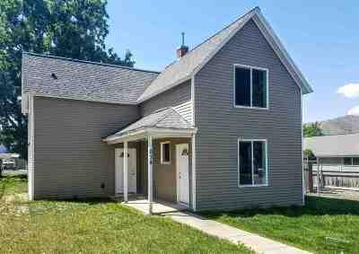 Lewiston, Clarkston Single Family Home For Sale: 634 10th Street