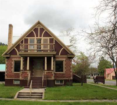 Orofino Single Family Home For Sale: 204 N E St