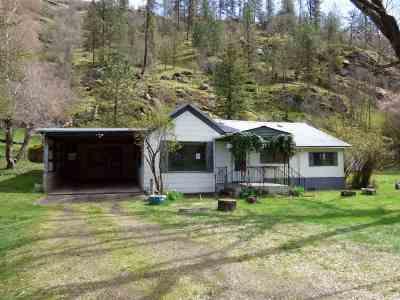 Orofino Single Family Home Back On Market: 197 Highway 11