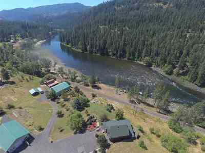 Orofino Single Family Home For Sale: 3126 Lower Fords Creek Road