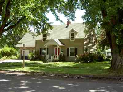 Kamiah Single Family Home For Sale: 615 9th Street