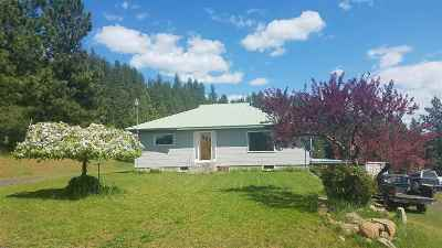 Orofino Single Family Home For Sale: 283 Deer Cedar Road