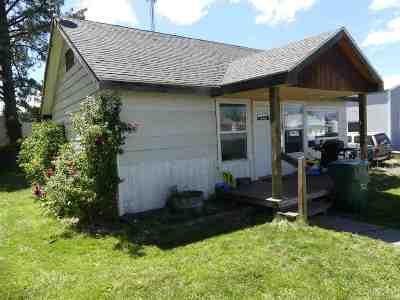 Grangeville Single Family Home For Sale: 316 N C. Street