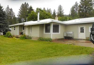 Peck, Pierce, Weippe Single Family Home For Sale: 37052 Eberhardt Road
