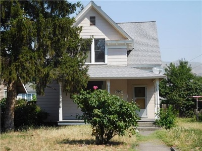 Lewiston, Clarkston Single Family Home For Sale: 307 2nd Avenue