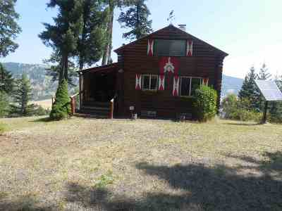 Orofino Single Family Home For Sale: 2481 Upper Fords Creek Road