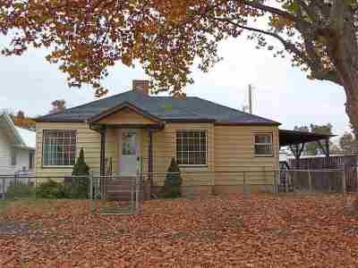 Clarkston WA Single Family Home For Sale: $169,900