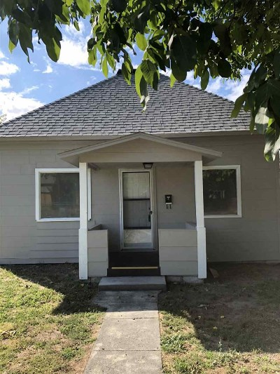 Clarkston ID Single Family Home For Sale: $132,900