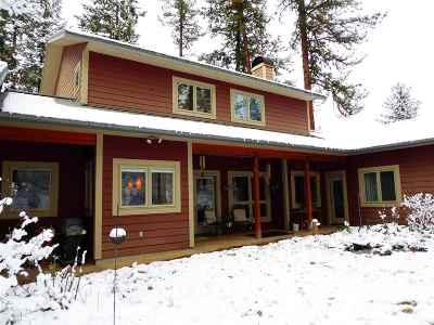Kooskia Single Family Home For Sale: 266 Long Bluff Road