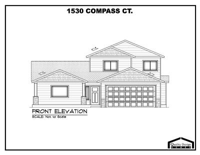 Lewiston Single Family Home For Sale: 1530 Compass Ct