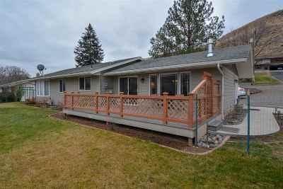 Asotin Single Family Home Pending Financing: 303 Adams St