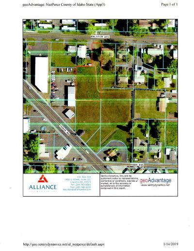 Lewiston Residential Lots & Land For Sale: 920 Preston Ave