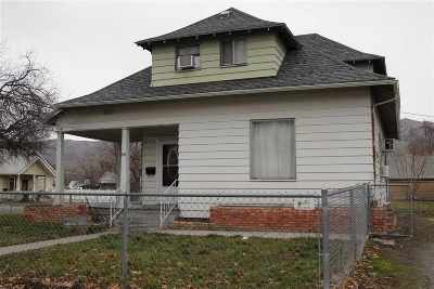 Lewiston, Clarkston Single Family Home For Sale: 716 Chestnut St