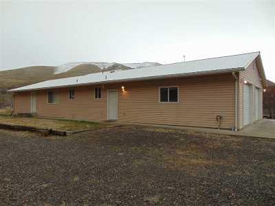 Asotin Single Family Home For Sale: 4382 Asotin Creek Rd
