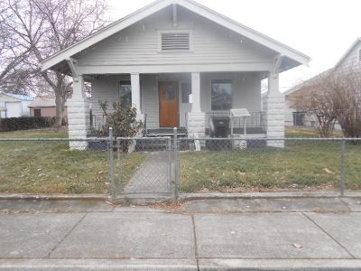 Lewiston, Clarkston Single Family Home For Sale: 816 3rd Street