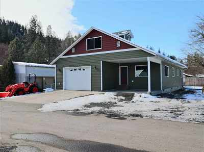 Orofino ID Single Family Home For Sale: $239,000