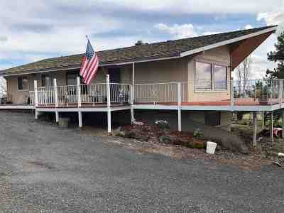 Lewiston Single Family Home Active With Bump Clause: 28880 Old Spiral Highway