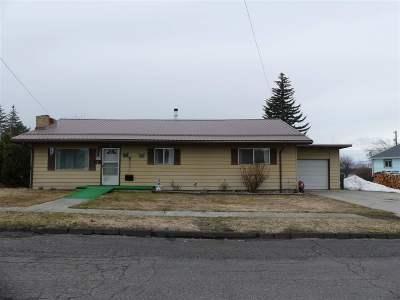 Grangeville Single Family Home For Sale: 238 S Florence Street