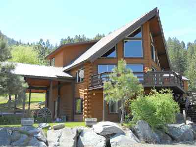 Orofino ID Single Family Home For Sale: $735,000