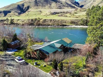 Adams County, Idaho County Single Family Home For Sale: 72 River Front Road