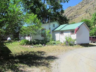 Riggins ID Single Family Home For Sale: $154,900