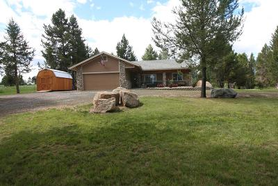 Cascade Single Family Home For Sale: 75 W Prospectors Drive