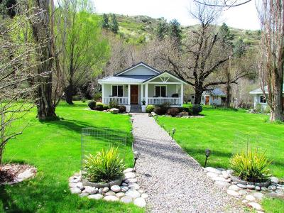 Adams County, Idaho County Single Family Home For Sale: 922 Slate Creek Road