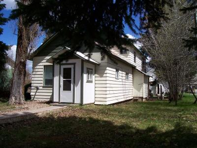 Cascade Single Family Home For Sale: 206 S Idaho Street