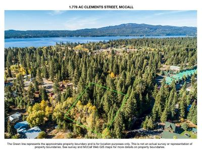 McCall Residential Lots & Land For Sale: Clements Street