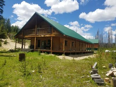 Idaho County, Valley County Single Family Home For Sale: 113 Eagle Creek Road