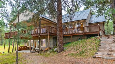 Cascade Single Family Home For Sale: 110 Wilderness Ranch Lane