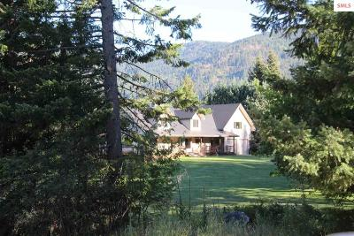 Sandpoint Single Family Home For Sale: 592 Pinecrest Loop