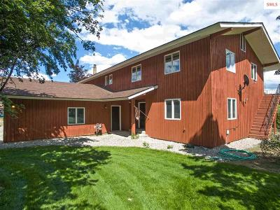 Moyie Springs Single Family Home For Sale: 3540 Roosevelt Rd