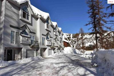 Sandpoint Condo/Townhouse For Sale: 58 Ullr Unit #2